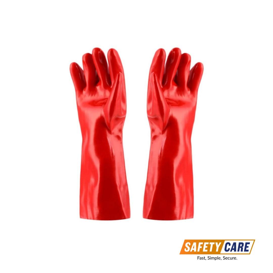 Safety-Gloves-PVC-GAUNTLET