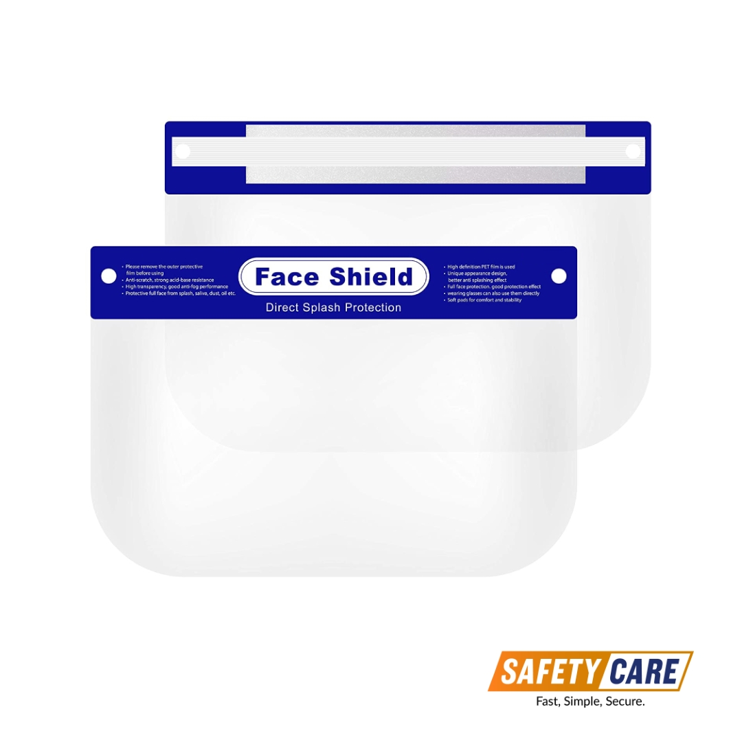 2 pieces of face shield