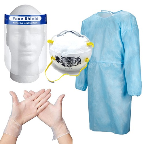 PPE suit travel package